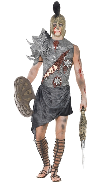 Men\'s Zombie Roman Warrior Costume