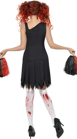 Zombie Team Spirit Cheerleader Costume