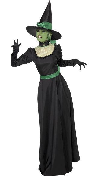 Black and Green Witch Costume