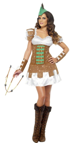 Sexy Robin Hood Costume, Sexy Robin Hood Costume for Women, Robin Hood Dress