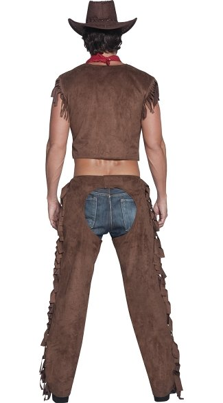 Men\'s Saddle and Straddle Cowboy Costume