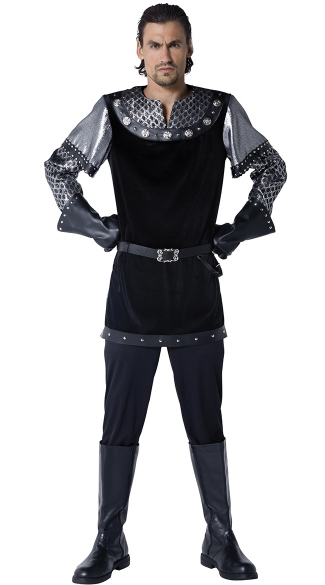 Men\'s Royally Knighted Costume, Medieval Knight Costume, Renaissance Knight Costume
