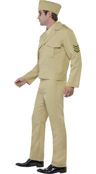 Men\'s Sexy Army Hero Costume