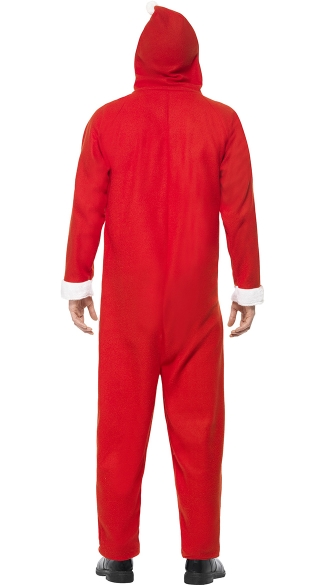Men\'s Santa Jumpsuit