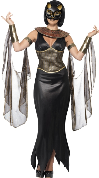 Bastet the Cat Goddess Costume, Egyptian Goddess Costume, Egyptian Costume