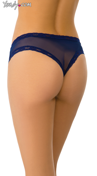 Midnight Lace Panty