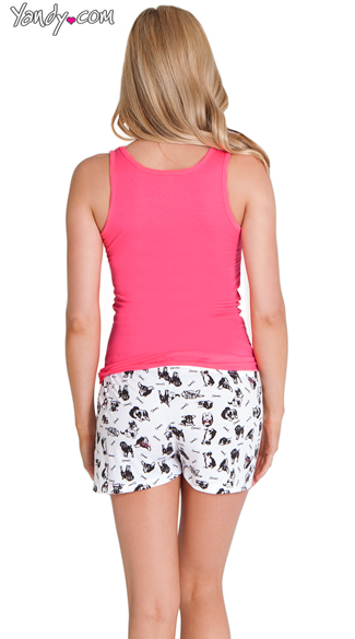 Dog Gone Cute Tank and Short Set
