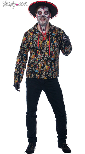 Dead Man\'s Party, Day of the Dead Costume, Skeleton Halloween Costume