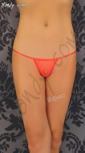 Thong with Studded Detail