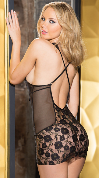 Gold Luxe Lace Chemise