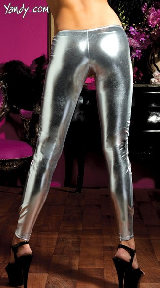 Shiny Stretch Lame Tights