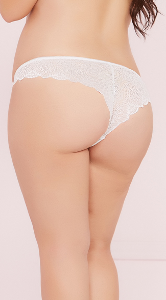 Plus Size Pretty In Lace Panty