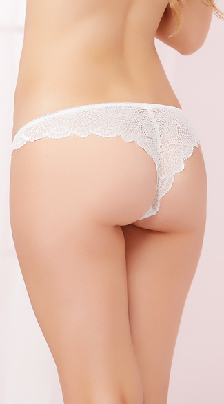 Pretty In Lace Thong Panty