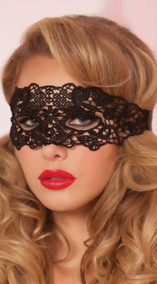 Galloon Lace Eye Mask, Lace Eye Mask