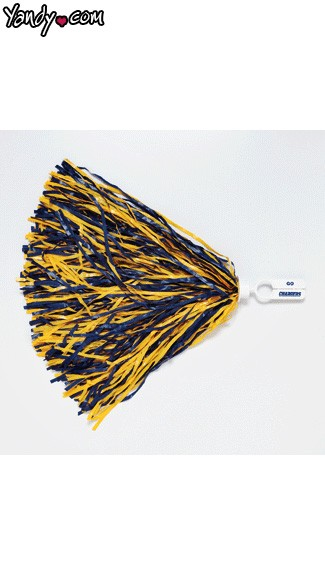 San Diego Chargers Pom Poms, Chargers Cheerleaders Pom Poms