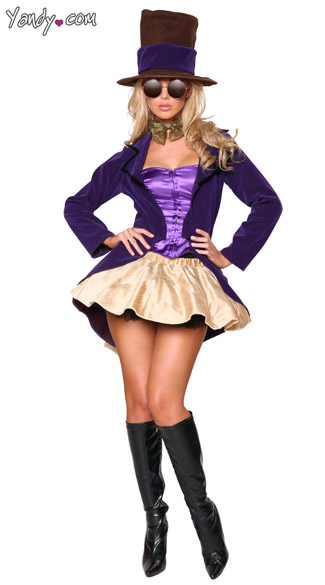 Chocolate Factory Girl Costume