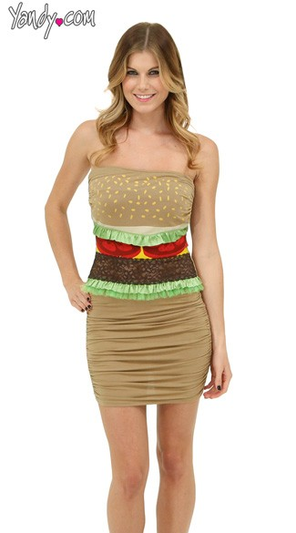 Sexy Hamburger Costume
