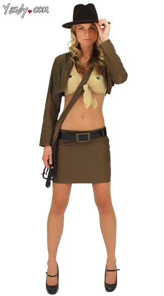 Sexy Indiana Jones Girl Costume