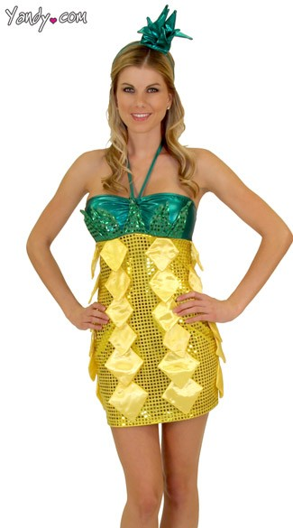 Sequin Pineapple Costume