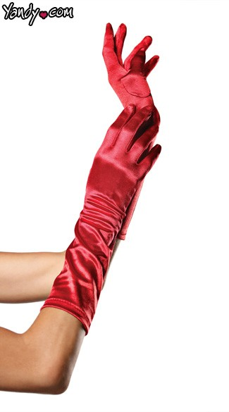 Sexy Red Gloves, Sexy Santa Gloves