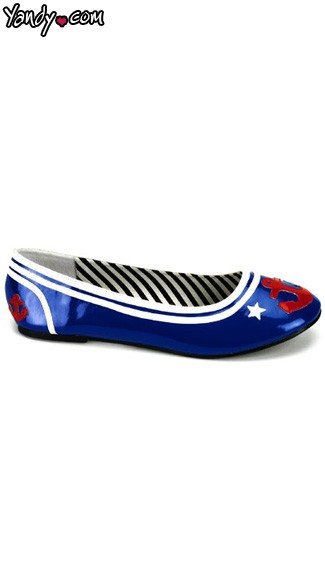 Sexy Sailor Shoes, Flat Sailor Shoes
