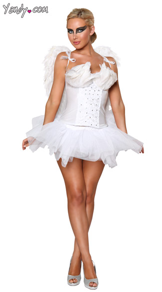 Sexy White Swan Costume, Deluxe White Swan Costume, White Swan Ballerina Costume, White Swan Halloween Costume