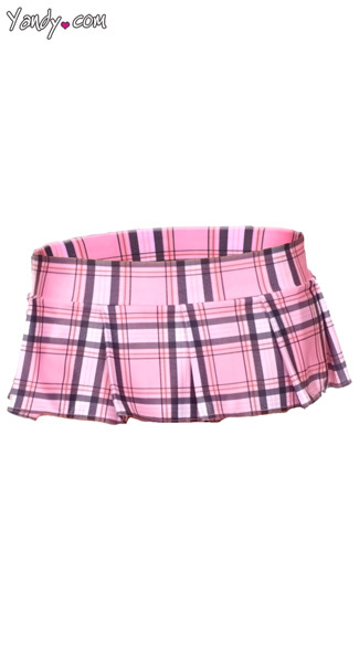 Mini Plaid Skirt