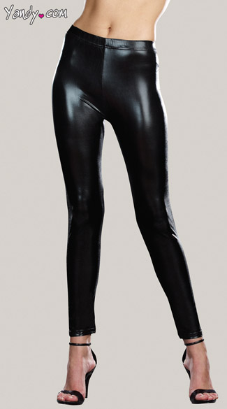 Stretch Gloss Microfiber Leggings