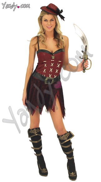 Sweetheart Pirate Costume