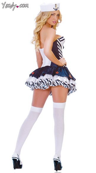 Stars and Stripes Sailor Costume