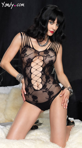 Naughty in Lace Teddy
