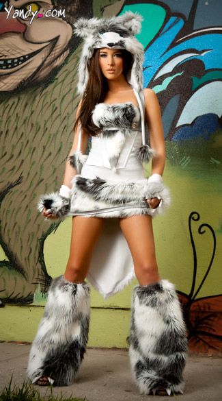 The Husky Deluxe Corset, Skirt and Tail