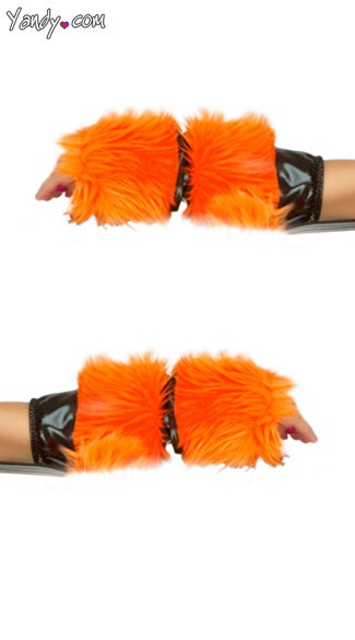 Tiger Costume Gloves