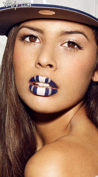 Blue, White and Grey Lip Kit