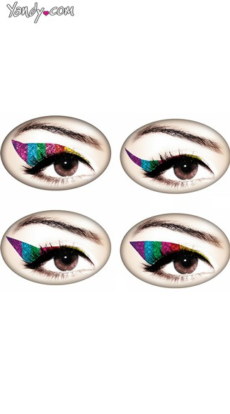 Rainbow Glitteratti Eye Kit