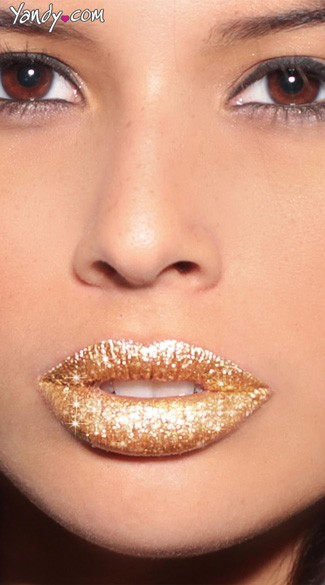 Gold Glitteratti Lip Kit