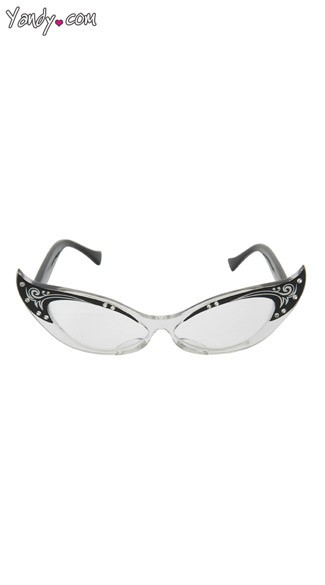 Vintage Cat Eyes Glasses