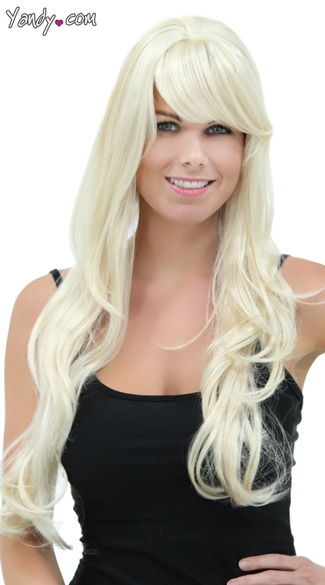 Soft Curl Long Blonde Wig