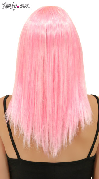 Cotton Candy Pink Straight Wig