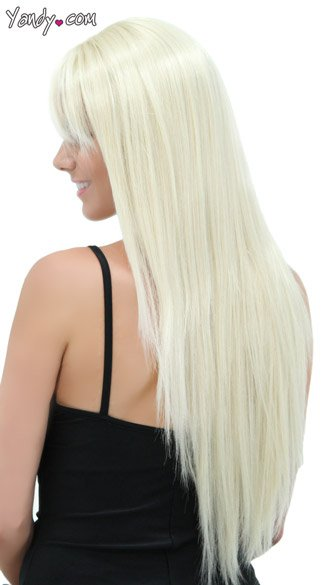 California Blonde Straight Layered Wig