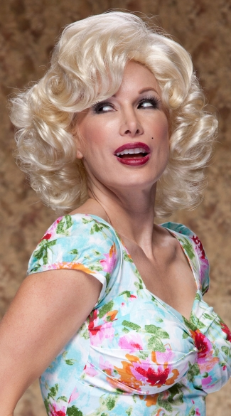 California Blonde Starlet Wig, Blush Starlet Cali Blonde Wig, Blonde Hollywood Wig