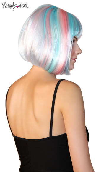 Deluxe Bobbed Angels Breath Wig