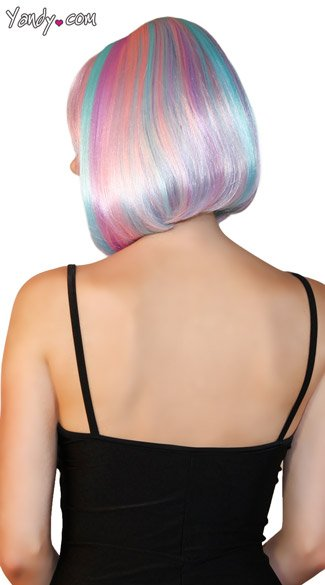 Deluxe Bobbed Candy Girl Wig