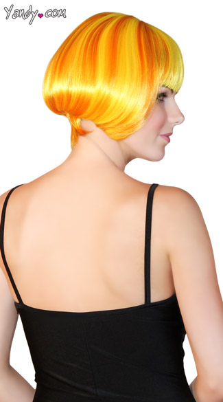 Deluxe Sunshine Mini Bob Wig