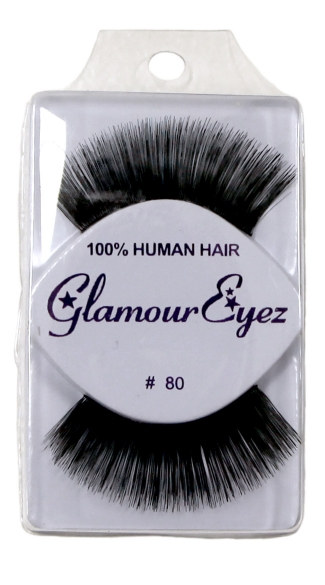 Extremely Thick False Eyelashes, Human Hair Eyelashes, Cheap Fake Eyelashes