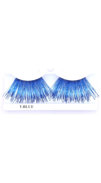 Extra Long Blue Eyelashes