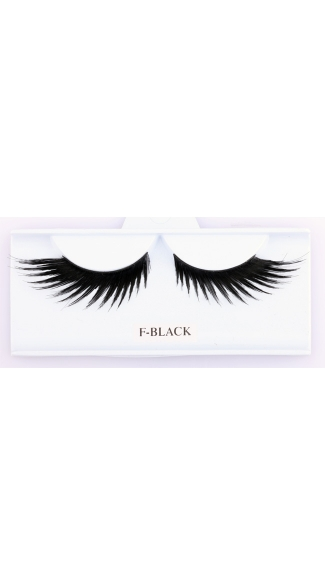 Black Wicked Eyelashes, Costume Eyelashes, Shaped Eyelashes