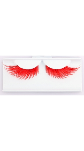 Red Wicked Eyelashes
