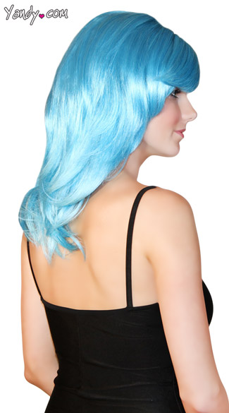 Light Blue Fantasy Wig