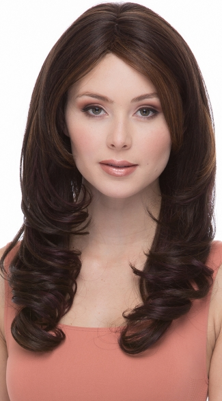 Brunette Babe Soft Curl Wig, Natural Brown Wig, Short Brown Wig